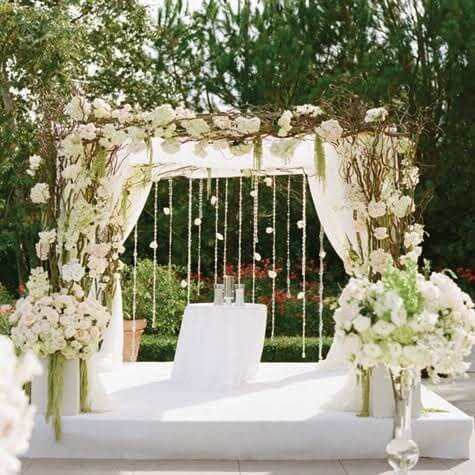 Eco-Friendly Bridal Canopies