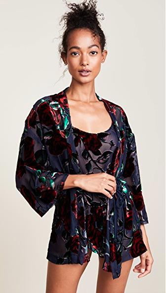 Woman in kimono