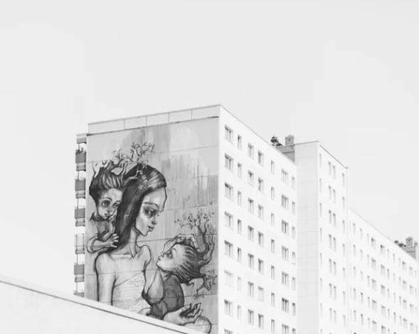 Mural of mother