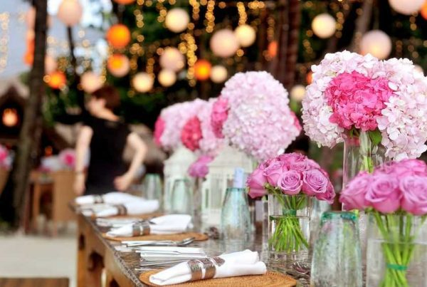 beautiful floral wedding arrangement