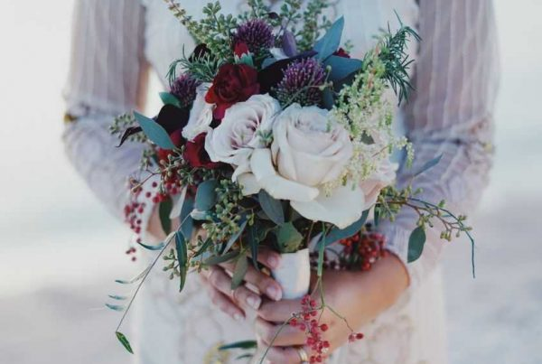 bridal blooming bouquet