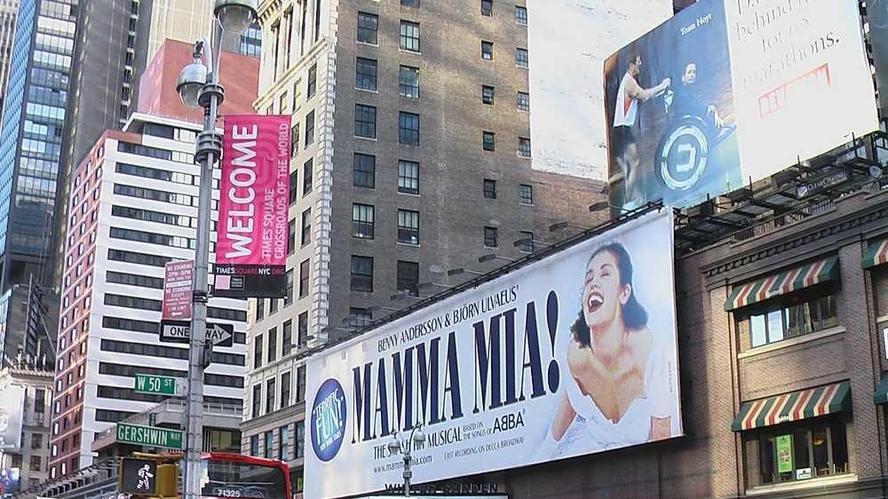 Broadway bilboard