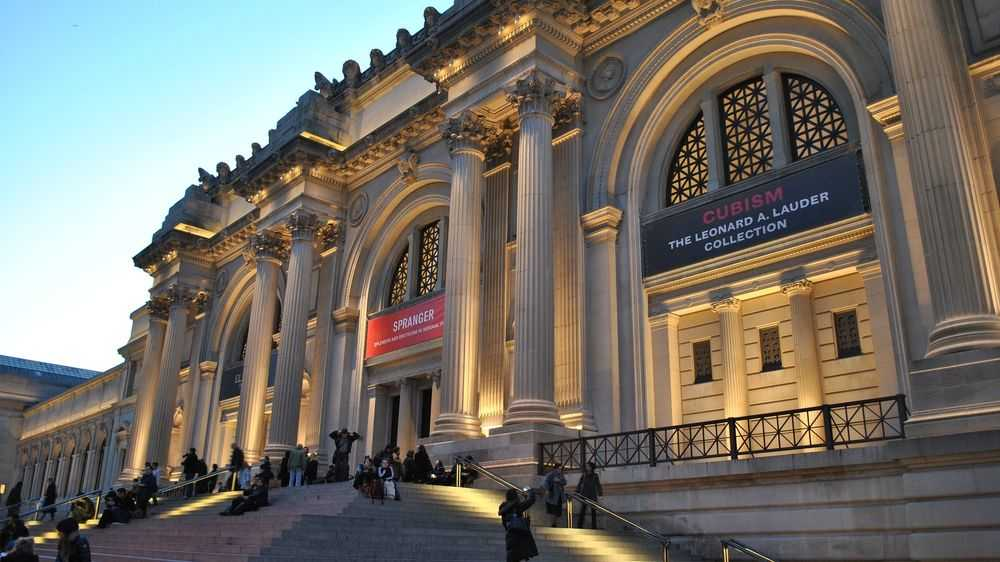 Metropolitan Museum entrance