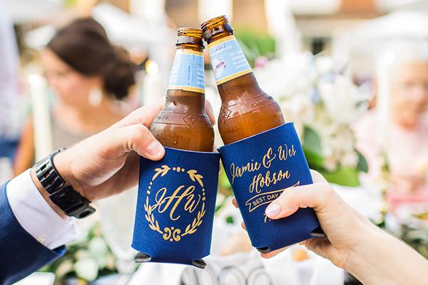 toast two bottles of beer