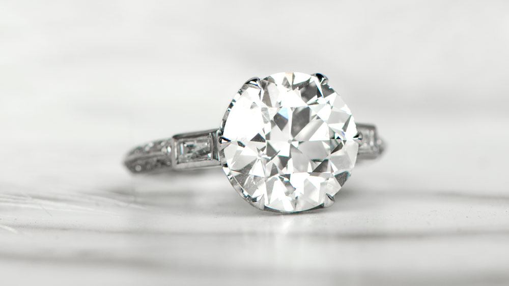 Parksville Antique Engagement Ring