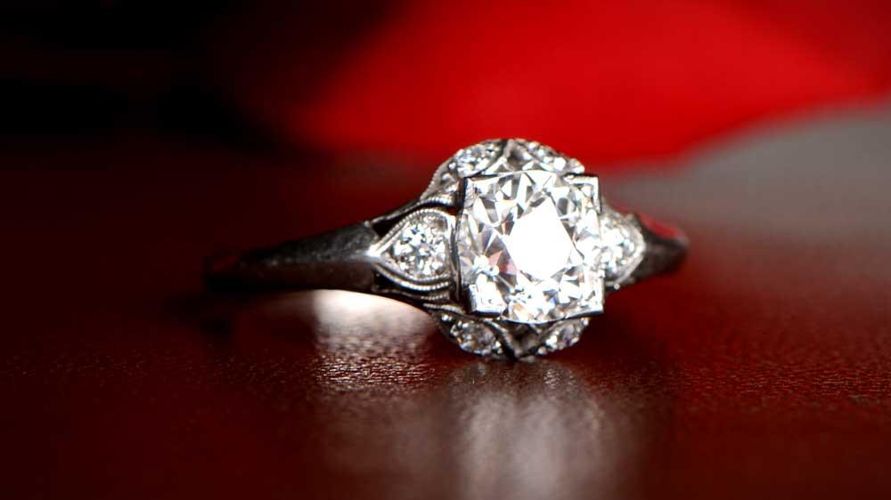 Tyne Platinum Ring