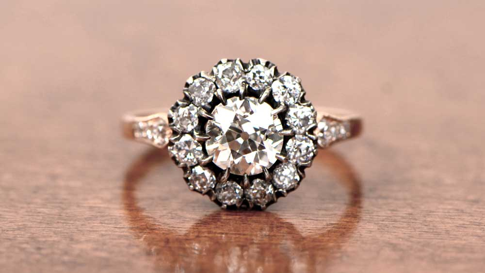 Victorian Era Vintage Engagement Ring