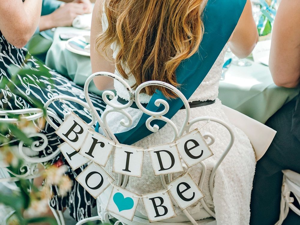bridal shower chair