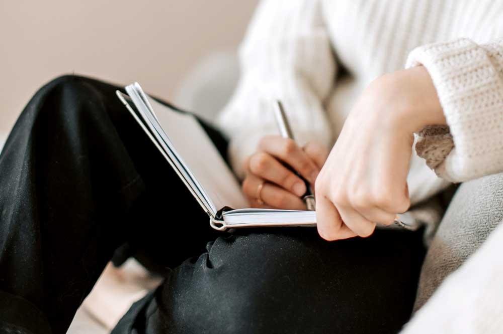 Writing Bridal Notes